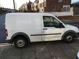 Ford transit connect new fan and cambelt fitted