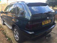 2001 BMW X5 3.0 DIESEL AUTOMATIC QUICKSALE