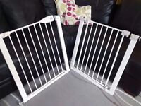 Baby Safety Gates x 2 pressure fit- Very good condition