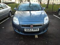Fiat bravo 57 registration,55,000 miles 1.4