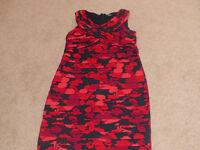 Red & Black Klass dress size 16