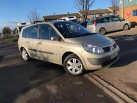 56 PLATE RENAULT GRAND SCENIC (7 seater) 1.6 PETROL- LOW MIL.- LONG MOT - READY TO DRIVE AWAY