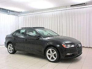 2016 Audi A3 WOW! WOW! WOW! TFSI QUATTRO AWD SEDAN w/ HEATED LE