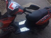 50cc moped low mileage, one previous owner, full service history