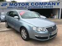 2009 VOLKSWAGEN PASSAT ESTATE FULL LEATHER TOP SPEC DSG AUTOMATIC DIESEL TDI VERY CHEAP