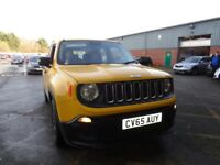 JEEP RENEGADE 1.6 Multijet Sport 5dr (yellow) 2015
