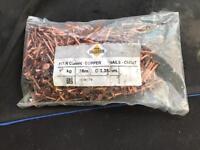 Copper nails - 38mm 1kg x10
