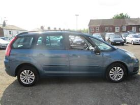 CITROEN C4 GRAND PICASSO 1.6HDi 16V VTR Plus 5dr (blue) 2009