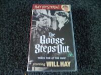 THE GOOSE STEPS OUT ( VHS TAPE )