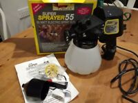 Earlex 55 watt electric spray gun