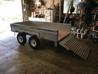 Brand new car trailers Various sizes