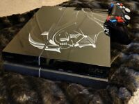 PS4 with limited edition skin
