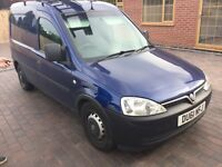 Here I have 2 Vauxhall combo vans for sale