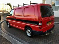 TOYOTA HIACE 2.5 D4D 90 SWB ONE OWNER FROM NEW SLIDING SIDE DOOR 2008
