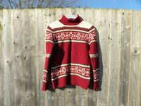 Ladies pure Lambswool Norwegain Style Jumper