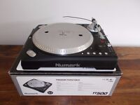 Numark tt500 direct Drive Turntable/ techncis 1210/1200 alternative/uk delivery available