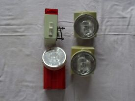 Old bicycle lights
