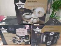 Tommee tippee perfect prep machine, steraliser and breast pump