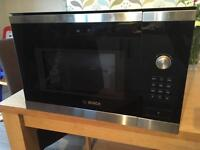 Bosch built in microwave with grill