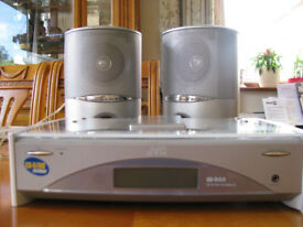 JVC CA-FSSD1000R CD player and speakers