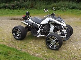 Road Legal Quad (with 250cc Four stroke engine).