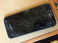 iPhone 5 - broken screen - still works