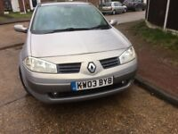 Renault Megane - good contition - £450 ONO