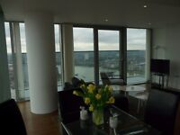 Magnificent 2 Bedroom Penthouse Views / Canary Wharf Prestige Apartments / Furnished / Onsite Gym