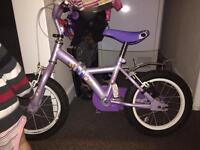 Girls used bike age 4+