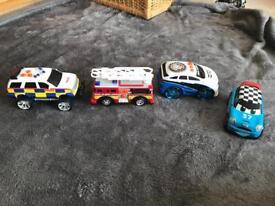 Police fire engine mini