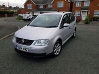 2005 vw touran 1.9 tdi s 7 seater full service history brandnew clutch been fitted