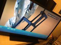 TOSHIBA 40 INCH LED TV FULL HD 1080P FREE VIEW HD HDMI X 3 USB iPLAYER STAND REMOTE