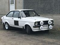1981 Mk2 Ford Escort 1600 sport fitted with 2ltr Engine
