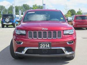 2014 Jeep Grand Cherokee Summit! 4x4! IV Hitch! London Ontario image 2