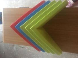 Ikea corner shelf x 5