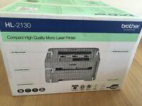 Brother HL-2130 A4 USB Personal Desktop Mono Laser Printer BRAND NEW
