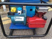 5hp Petrol Generator 240v & 110v