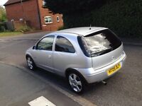 2005 VAUXHALL CORSA 3 DOOR HATCHBACK, SRI MODEL. 1400CC ENGINE, , ALLOYS, LONG MOT.