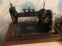 Singer type sewing machine
