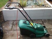 Electric Lawnmower – Qualcast Powertrak 34