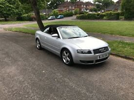 2005 Audi A4 Convertible 1.8 Petrol, Leather Interior, LONG MOT, Service History