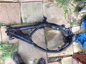 Rm 125 parts (frame)