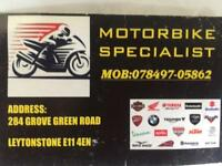 Motorcycle repair and service