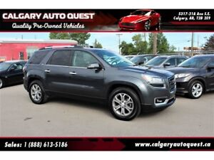 2013 GMC Acadia SLT2 AWD/B.CAM/3RD ROW/LEATHER/ROOF