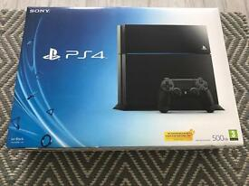 PS4 Console PlayStation4 with Game Wipeout Omega