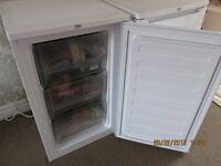 LESS THAN FIVE MONTHS OLD BEKO UF483APW UNDERCOUNTER FREEZER IN WHITE