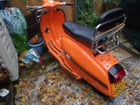 Extensively refurbished 1978 Lambretta