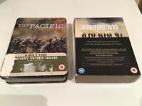 Band of Brothers and The Pacific Boxed Sets