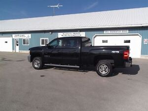 2009 Chevrolet SILVERADO 2500HD LT,DIESEL,CREW,SHORT,4X4,142 KM! Kitchener / Waterloo Kitchener Area image 9