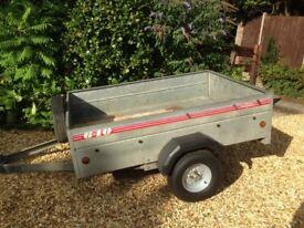 Caddy 640 trailer